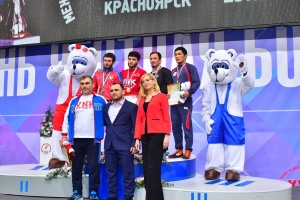 The winners and medalists of the first day say